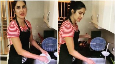 Photo of Katrina Kaif Tutors Fans on 'How To Wash Utensils'