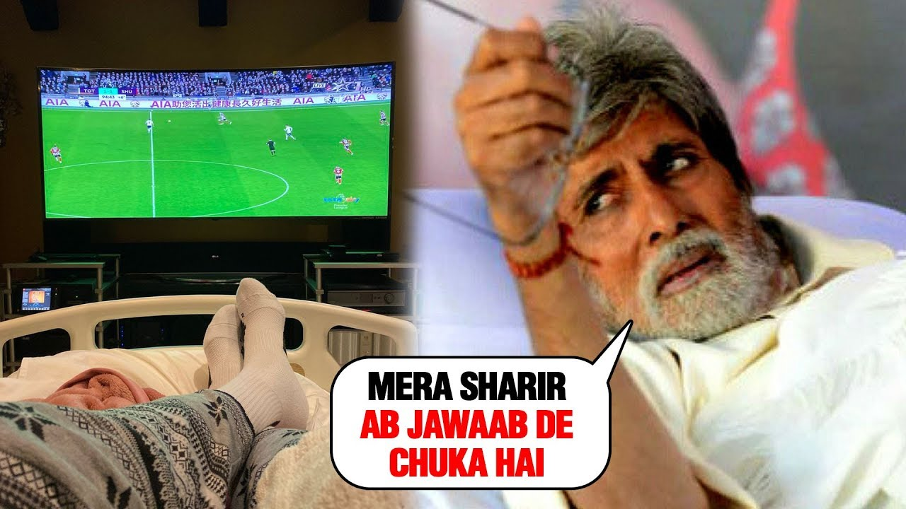 Photo of Amitabh Bachchan's Body is Asking Him to Take it Slow