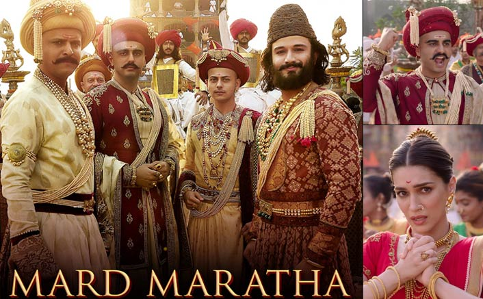 Photo of Arjun Kapoor-Kriti Sanon Pay Tribute To Maratha Empire's Bravehearts Via Extravagant Track: 'Mard Maratha'