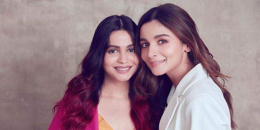 Siblings Day For Shaheen And Alia Bhatt