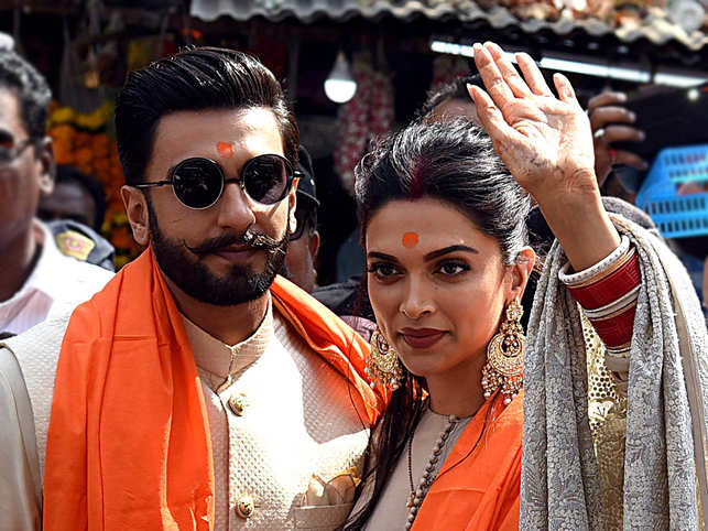 Photo of Deepika & Ranveer Will Celebrate Their 1st Wedding Anniversary Visiting Tirupati & Golden Temple