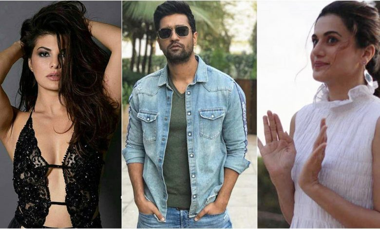 Taapsee Pannu Takes A Funny Shot At Her Co-Stars Vicky Kaushal & Jacqueline Fernandez
