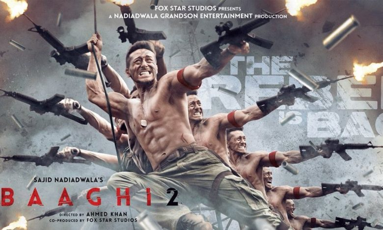 Tiger Shroff Is Back On His Bone Breaking Spree Amidst Blazing Guns