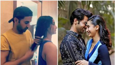 Photo of Rajkummar Rao Turns Patralekhaa's Hair Stylist in Free Time