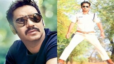 Photo of Madhya Pradesh Cop Copies Ajay Devgn's Singham & Phool Aur Kante Stunt, Gets Fined 5000.