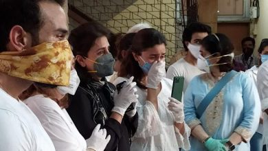 Photo of During Last Rites, Alia Turned Into a Bridge For Riddhima & Rishi Kapoor