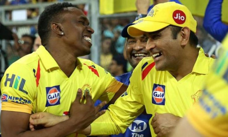 DJ Bravo on a Song For MS Dhoni