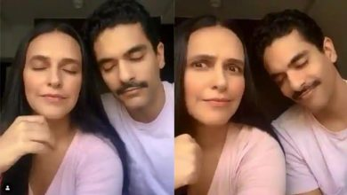 Photo of Neha Dhupia's TikTok Challenge With Angad Bedi. Have a Look!