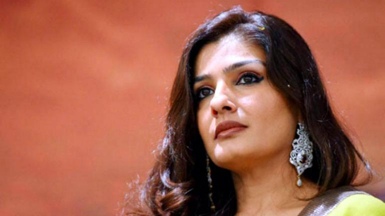 Raveena Tandon Video of Rishi Kapoor