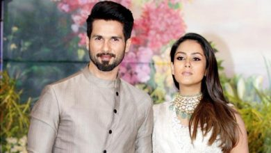 Photo of Mira Rajput Has Had Enough of Shahid Kapoor During The Lockdown