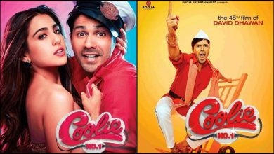 Photo of Varun Dhawan and Sara Ali Khan's Coolie No. 1 Might Release on OTT