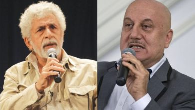 Photo of Anupam Kher Deals With Naseeruddin Shah's Bad Mouthing Through A Video Tweet