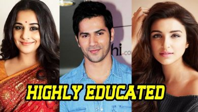 Photo of 11 Most Educated Bollywood Stars You Will be Surprised to Know