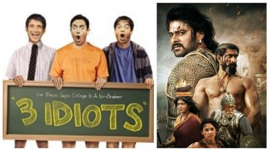 Photo of Bollywood Updates: 3 Idiots Most Watched Movie, 'Baahubali 2' Completes 3 Years & More
