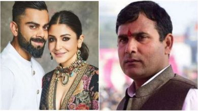Photo of BJP MLA Nandkishor Gurjar Asked Virat Kohli to Divorce Anushka