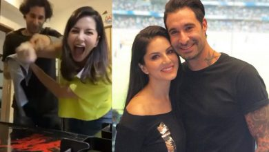 Photo of Sunny Leone's Prank on Daniel Weber is a Big Flop, But Still She's Happy!!
