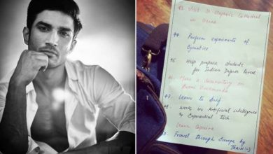 Photo of Sushant Singh Rajput's List of Dreams is Pure Wholesome