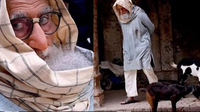 Photo of An Insight Into Amitabh Bachchan's Stunning Transformation For Gulabo Sitabo