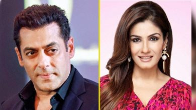 Photo of Raveena's First Ever Meeting With Salman Khan Got Her Debut Film
