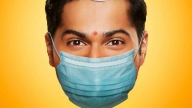 Photo of Varun Dhawan a.k.a. 'Coolie No.1' is Back on Duty With a Mask