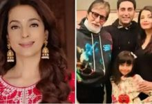 Photo of Juhi Chawla's Tweet on Amitabh & Abhishek's Health Confuses Twitterati