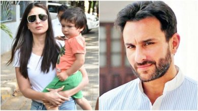 Photo of Saif Ali Khan Tells The Reason Behind Taimur Not Wearing a Mask
