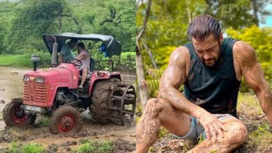 Photo of Salman is Having Fun Doing Farming at His Panvel Farmhouse