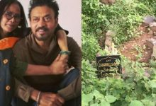 "Photo of Irrfan Khan's wife Sutapa Sikdar Reacted to ""Grave Looks Like Dumpster"" Comment"