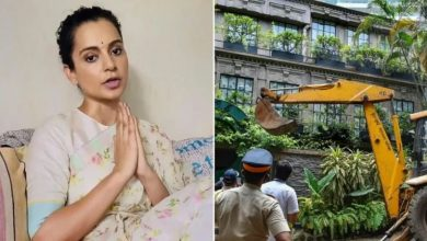 Photo of Kangana Ranaut Says She Can't Afford to Rebuild Demolished Office