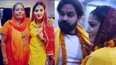 Photo of Sapna Choudhary's Mother Discloses THIS About Her Daughter's Marriage, The Actress Got Married Like This