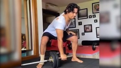Photo of WATCH Randeep Hooda Working Out For The First Time After Surgery, Fans Said 'Jaat Is Back'
