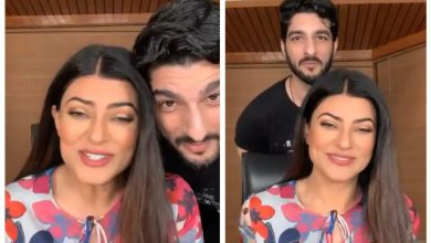 Photo of Sushmita Sen Replies Shyly On Tying The Knot With Her Boyfriend