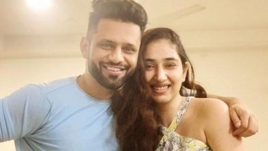 Photo of Disha Parmar Shares a Meme on Beau Rahul Vaidya