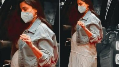 Photo of Mom-To-Be Anushka Sharma Wears Lily Dress By Anita Dongre; Know Its Price