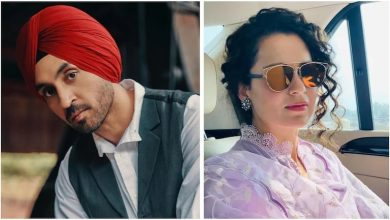 Photo of Here's The Hilarious Reply Diljit Dosanjh Gave When Kangana Ranaut Joined A Twitterati In Asking 'Diljit Kitthe Aa'