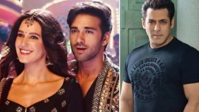 Photo of This Is How Salman Khan Reacted To Pulkit Samrat-Isabelle Kaif's First Looks From 'Suswagatam Khushaam'